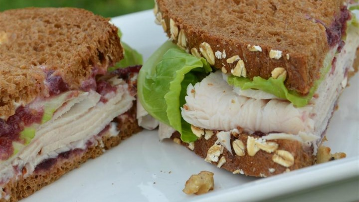Karla's Nutty Turkey Cranwich