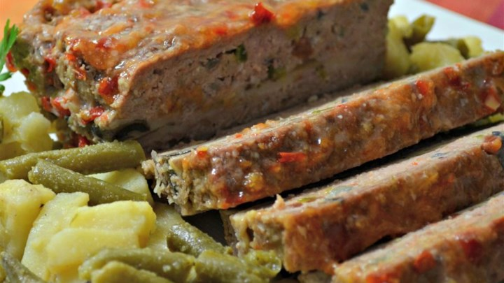 Mushroom and Swiss Burger Meatloaf