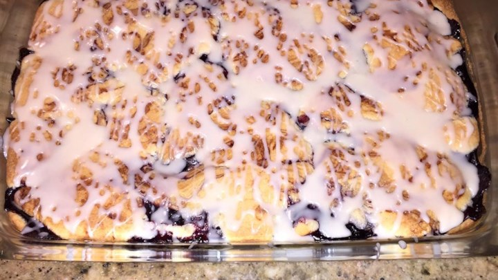 Quick and Easy Cherry Bars