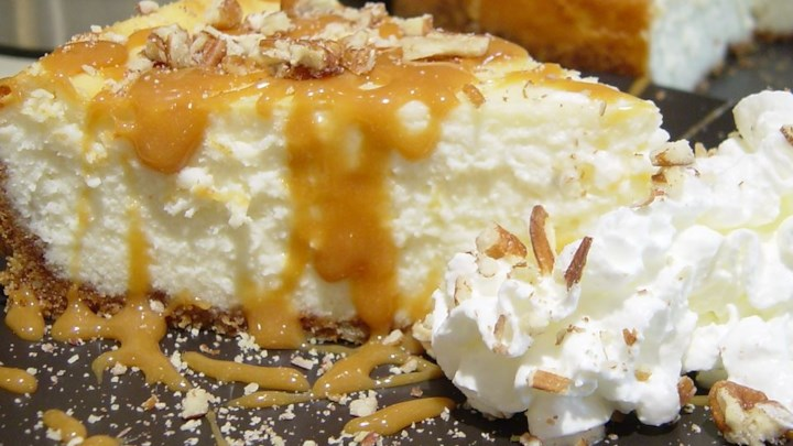 Caramel Pecan Cheesecake Recipe - Allrecipes.com