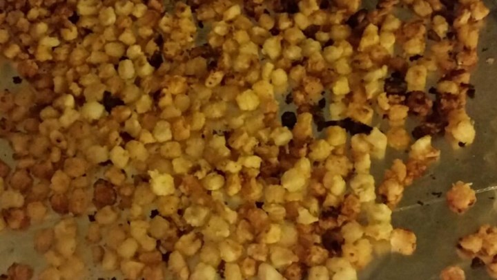 Oven Roasted Hominy