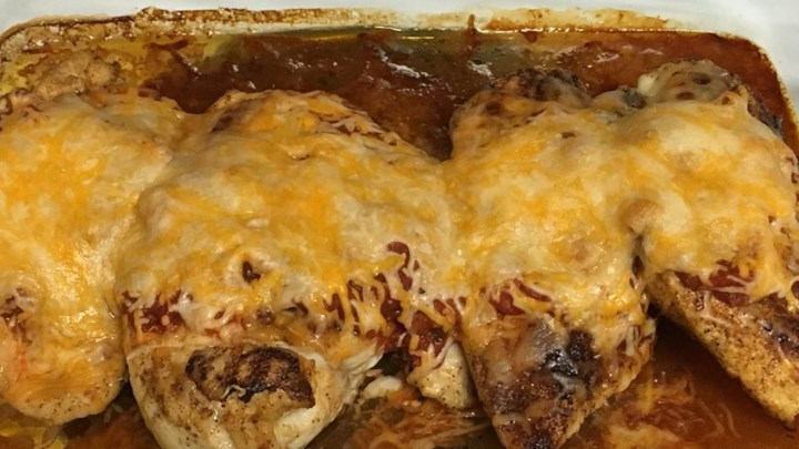 Healthy Mexican Chicken Bake