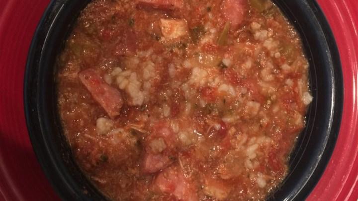 Meaty Slow Cooker Jambalaya