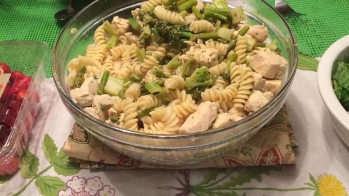 Katie's Chicken and Broccoli Pasta
