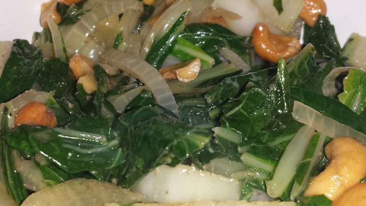 Stir Fried Bok Choy