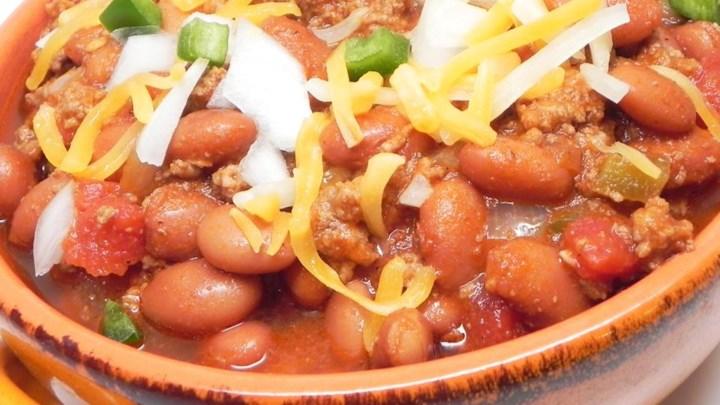 Tray's Spicy Texas Chili