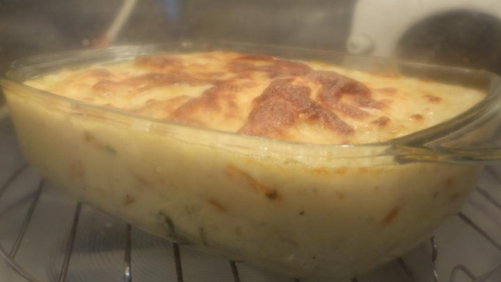 Cabbage-Carrot Casserole