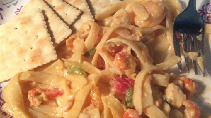 Louisiana Crawfish Ya-Ya Pasta
