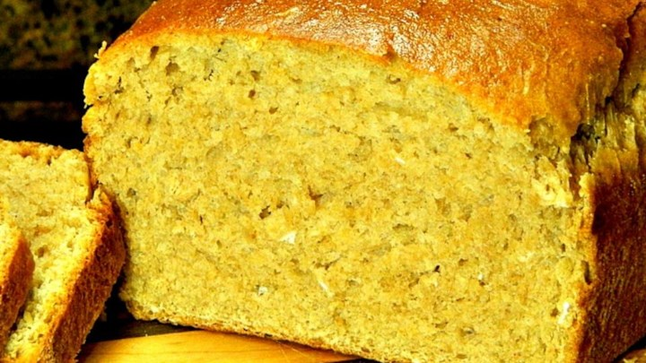 oat bread machine recipe