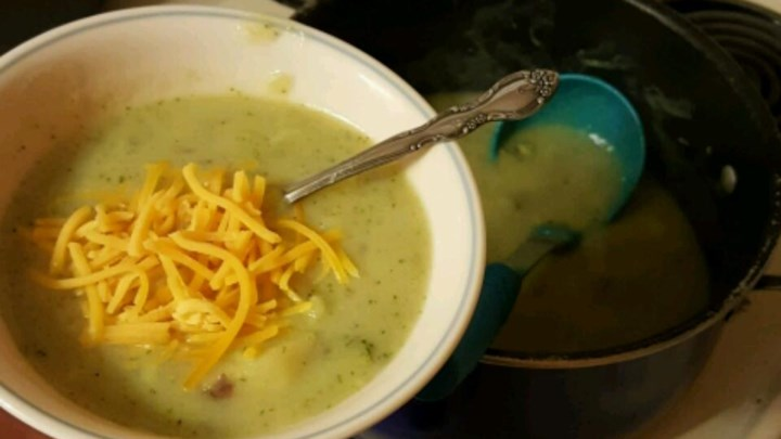 Potato, Broccoli and Cheese Soup