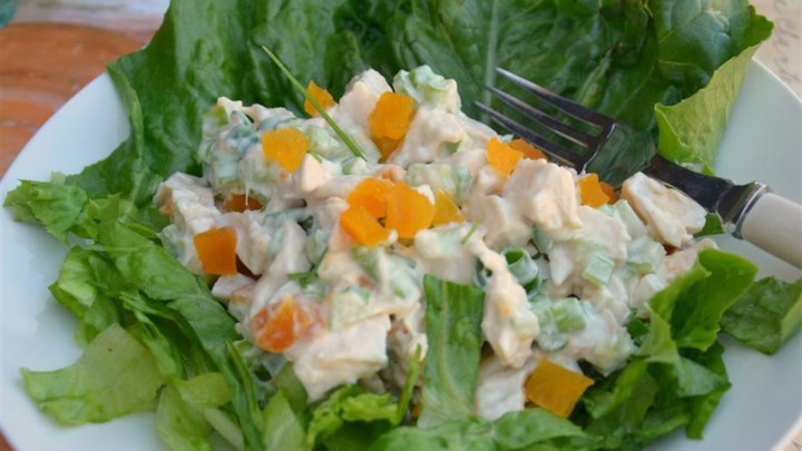Sweet and Sour Chicken Salad