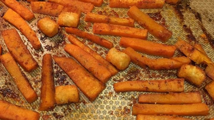 Charlotte's Butternut Squash Fries