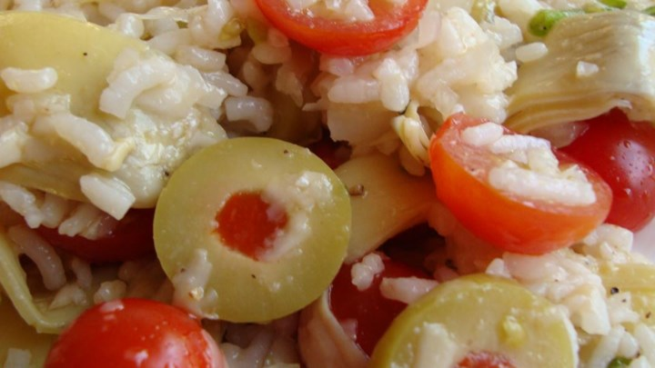 Tracy's Tomato Artichoke Rice Salad