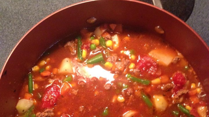 Quick and Easy Vegetable Beef Soup - Review by Realynn Greeley ...