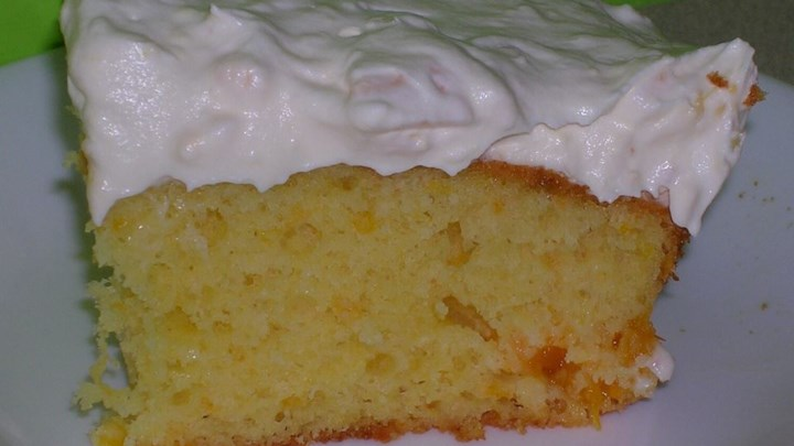 Quick Sunshine Cake