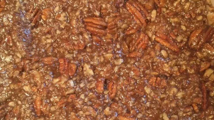 Tennessee Whiskey Sweet Potato Casserole