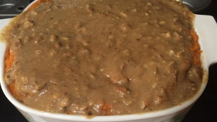 Scrumptious Sweet Potato Casserole