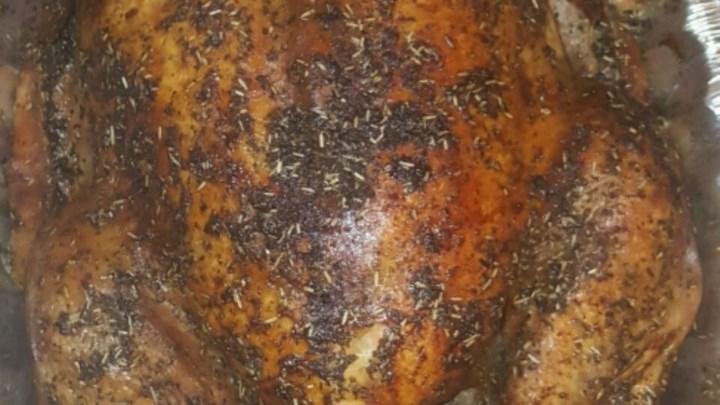 Rosemary Roasted Turkey