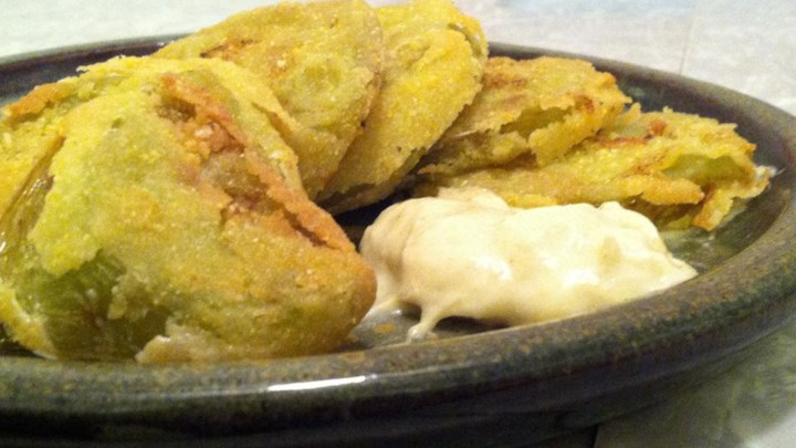 Mawmaw's Simple Fried Green Tomatoes - Review by Rebecca Snell ...