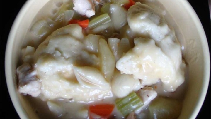 Maria's Chicken and Dumplings