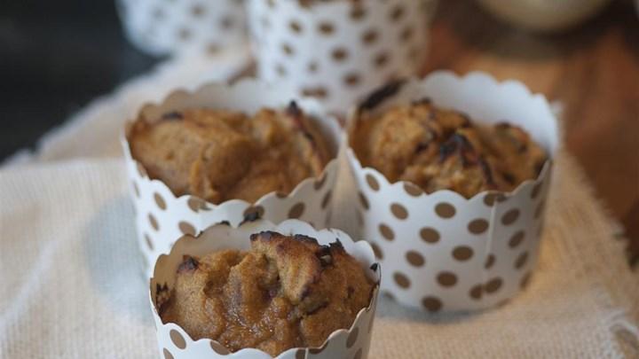 Paleo(ish) Pumpkin Walnut Muffins