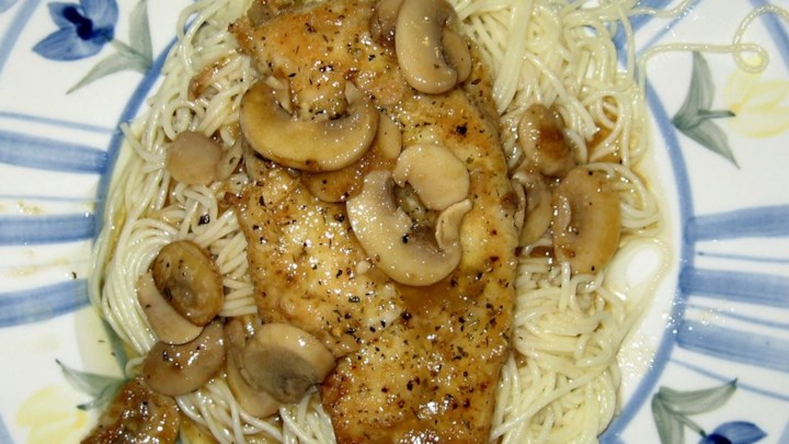 Mozzarella Chicken Marsala