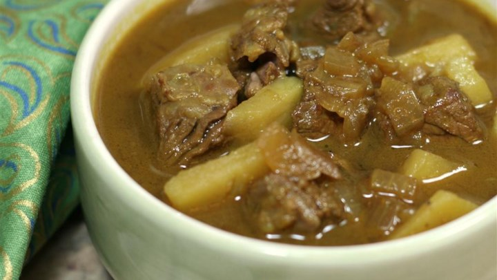 Curry Beef Soup