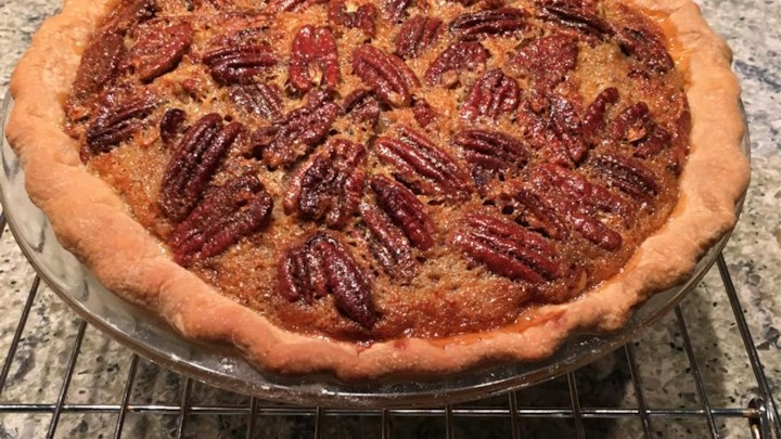 Pumpkin Pecan Pie I