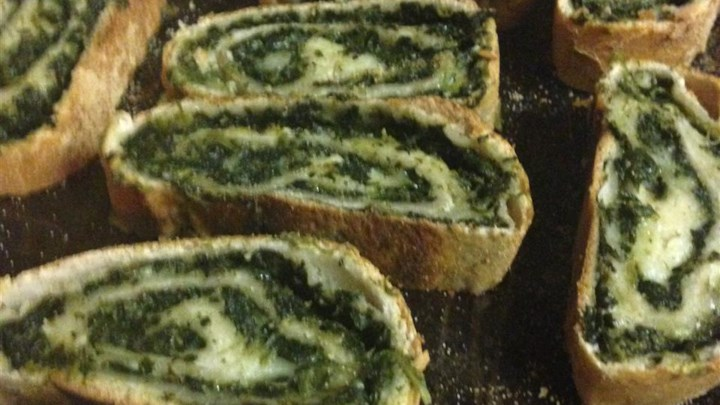 Quick and Easy Spinach Bread