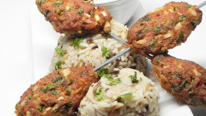 Persian Turkey Kofta Kebabs Recipe — Dishmaps