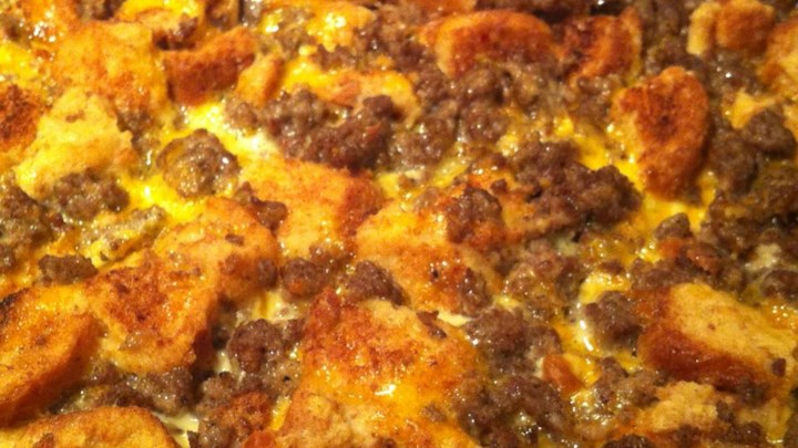 Christmas Breakfast Sausage Casserole Recipe - Allrecipes.com