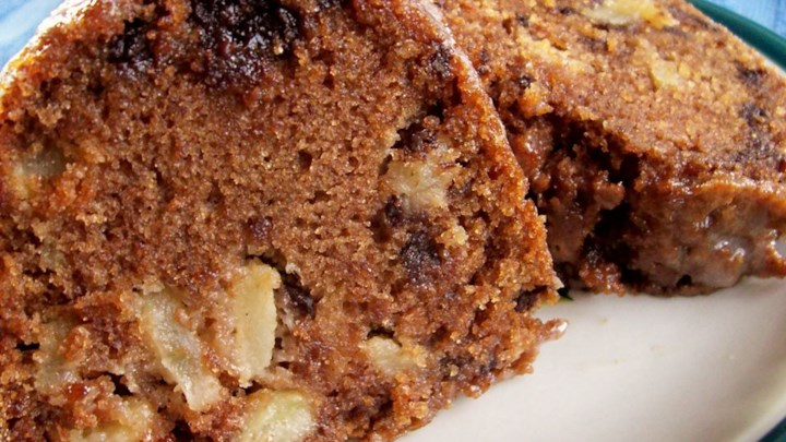 Chocolate Chip Apple Cake