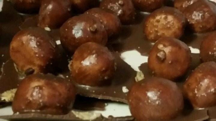 Coconut Chocolate Peanut Butter Balls
