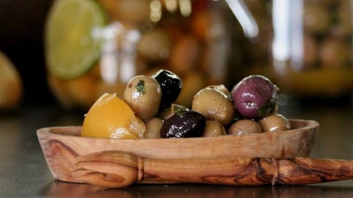 Cured Olives