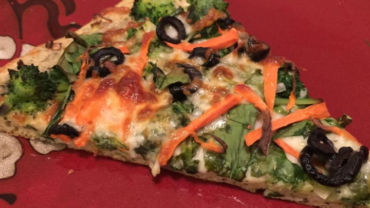 Veggie Ranch Pizza