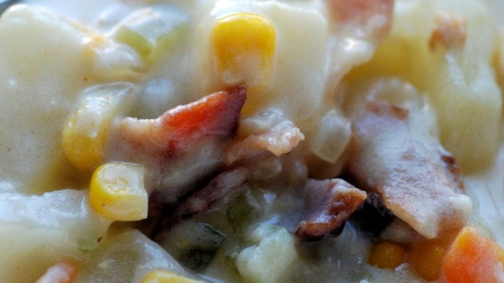 Potato, Bacon, and Corn Chowder