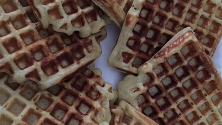 Scandinavian Sweetheart Waffles