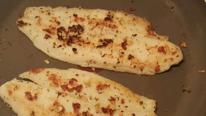 Easy garlic swai fish review by cajun voyageur for Swai fish recipes food network