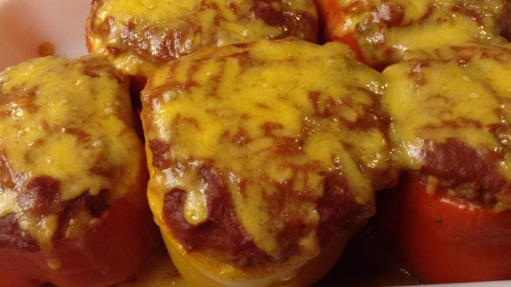 Classic Beef Stuffed Peppers