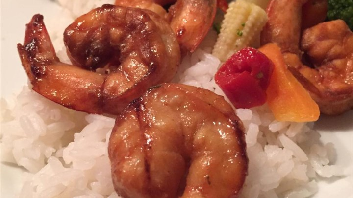 Grilled Kung Pao Shrimp