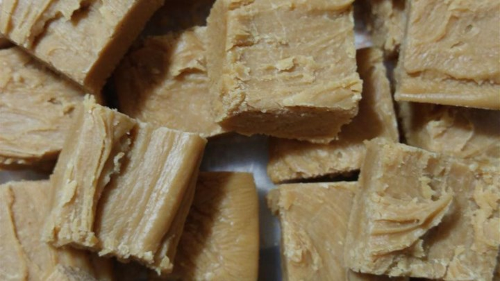 Extra Work Peanut Butter Fudge