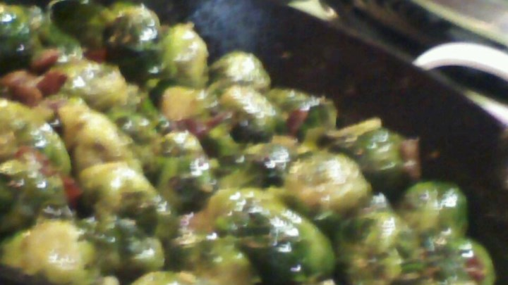 Skillet-Braised Brussels Sprouts