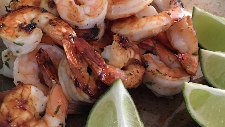 'But Why Is The Rum Gone?' Grilled Shrimp