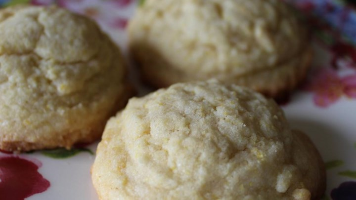 Cornmeal Cookies II
