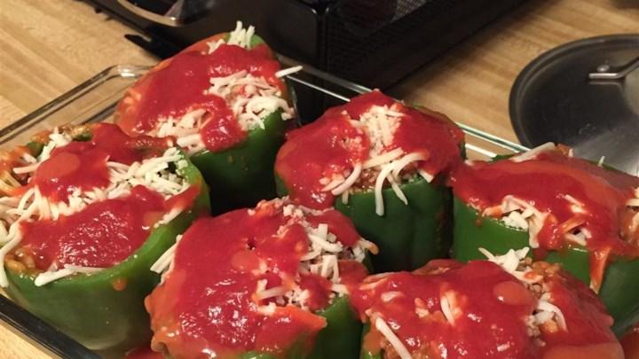 Di's Stuffed Green Peppers