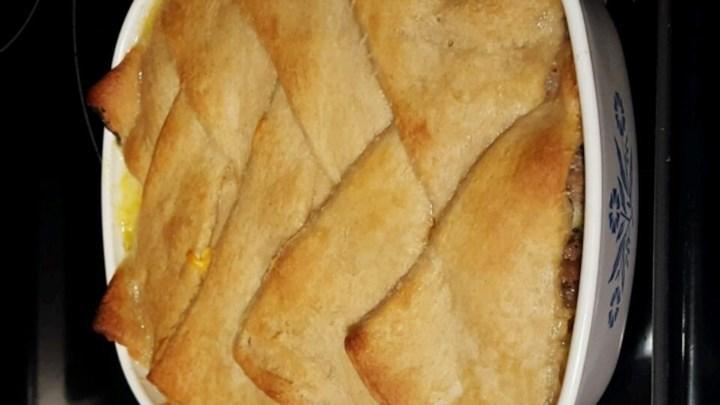 Granny's Easy Turkey Pie