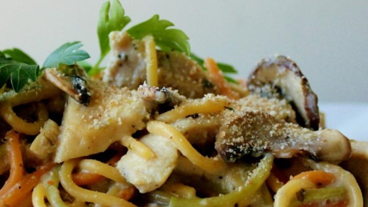 Easy Slow Cooker Chicken Tetrazzini Recipe - Allrecipes.com