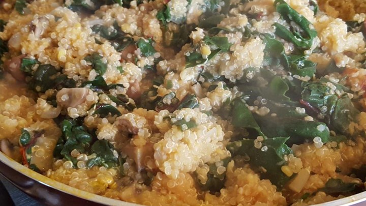Quinoa Chard Pilaf Recipe - Allrecipes.com