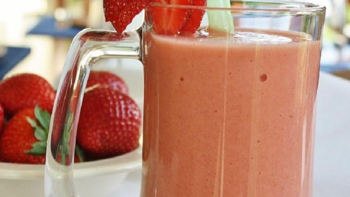 Strawberry Orange Banana Smoothie