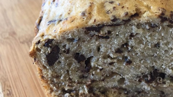 Bitter Chocolate, Lavender, and Banana Tea Loaf